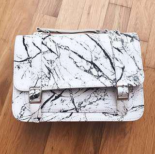 Marble Minimalist Sling Bag