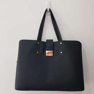 Eloise Laptop Bag (Black)