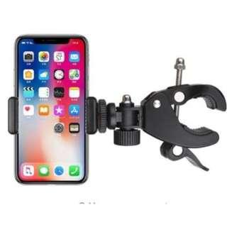 youtuber Mobile Phone selfie Live Broadcast Support Multifunctional Motorcycle Self Cycling Navigation Phone Rack Clip Vertical Rotation