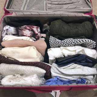 CLEARANCE EVERYTHING IN SUITCASE