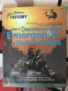 All About History - Unit 4 Decolonisation & Emergence of Nation-States