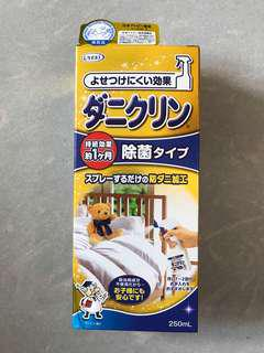 UYEKI 床上除蟎 消臭 除菌劑噴霧250ml