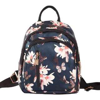 Korean Floral Backpack