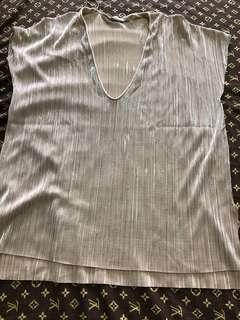 Orig zara shiny blouse