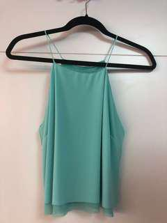 🚚 Turquoise halter neck top