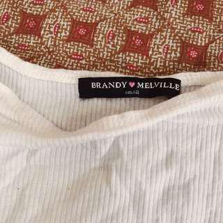 Brandy Melville White Top