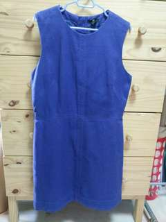 Sleeveless royal blue dress from H&M