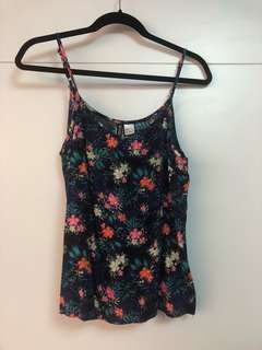 🚚 Summer floral tank top