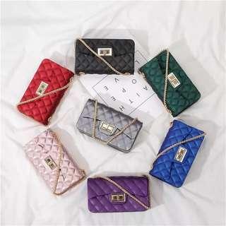 Korean Jelly Sling Bag