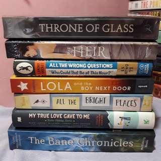 YOUNG ADULT BOOKS Fiction Novels