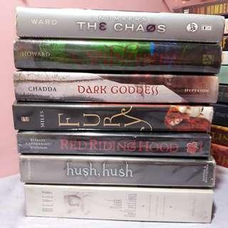 YA Novel Fiction Books