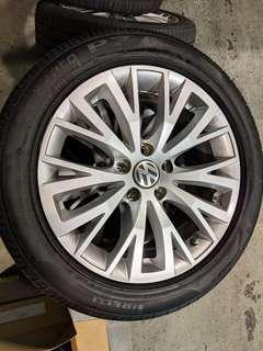 "VW Sharan Original Rims 17"""
