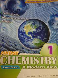 HKDSE Chemistry A Modern View Bk 1-5 second edition #滄海遺珠