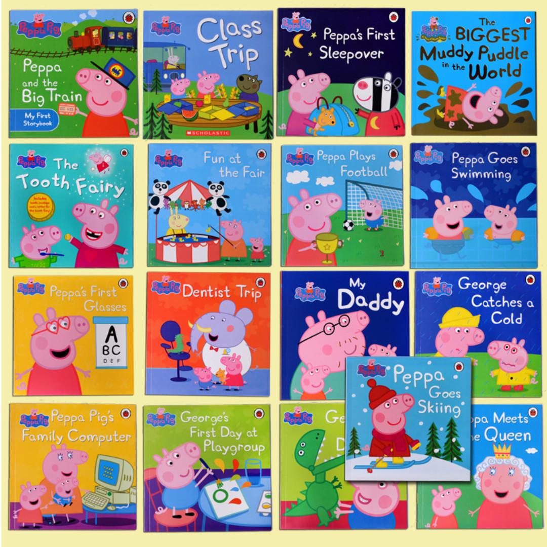17 Peppa Pig Book Set Brand New Sealed Set New