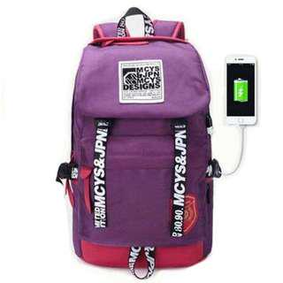 Haversack Backpack Travel, School, Camping Free 1 Sling Bag and 1 Usb Cable