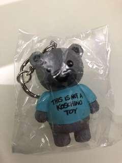全新可愛小熊鎖匙扣