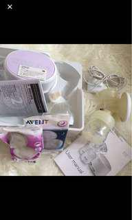 Breast electric pump avent pompa asi listrik