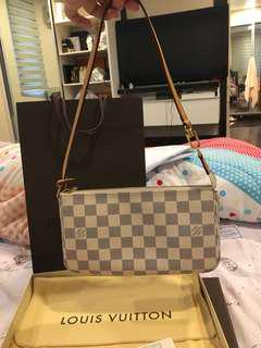 Authentic lv pochette pouch azur bag