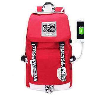 Haversack Backpack School, Travel Or Office Use Free 1 Sling Bag and 1 charging cable