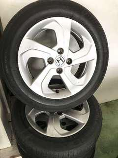 Rim honda city 2015 (original)