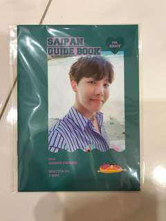 WTS BTS Summer Package 2018 in Saipan Jhope Guide Book