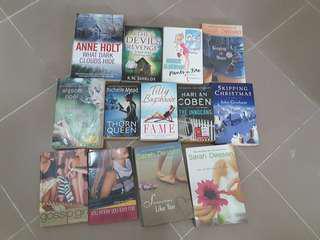 Multiple genres english novel
