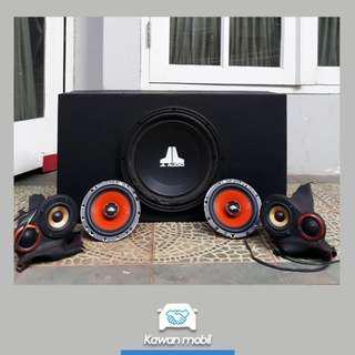 Audio Mobil VENOM (Sub, speaker, Mid Range)