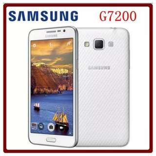 Original Unlocked Samsung Galaxy Grand Max G7200 16GB ROM 1.5GB RAM 5.25 Inch 13.0MP LTE Dual SIM Cards  condition is same as new no damage no scratche