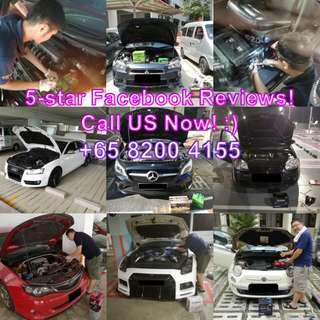 New Car Battery (Installation Service)