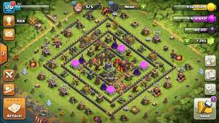 Clash Of Clan TH10 minimax for war