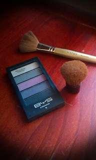 BUNDLE & SAVE: BYS 5pc + Natio Blusher + Travel Kabuki Brushes