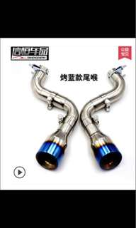 Honda Civic FD Exhaust System