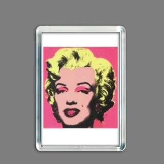 Fridge Magnet: Marilyn Monroe by Andy Warhol