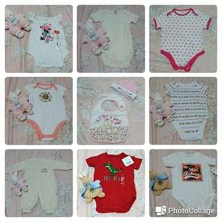 🚚 (1/30免運)全新美國嬰幼兒童裝 包屁衣