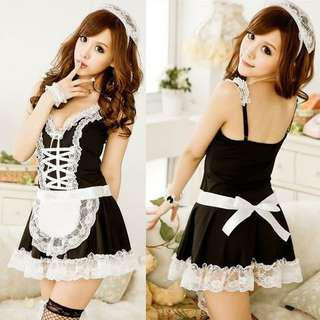 Sexy Lingerie maid costume