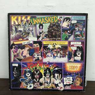Kiss unmasked LP for sales