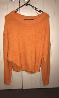 Glassons orange batwing knit