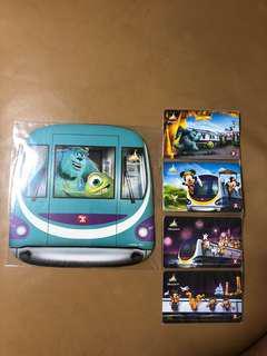 Disney 10週年紀念車票 港鐵 MTR 全新