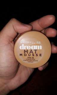 CLEARANCE! Maybelline Mat Mousse Foundation