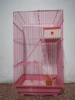 3-Storey Hamster Cage