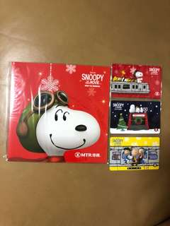 Snoopy 電影紀念車票 港鐵 MTR 全新