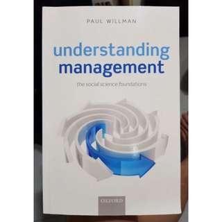 Understanding Management by Paul Willman