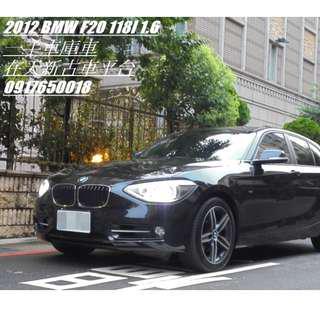 BMW F20 118I SPORT 低月付免頭款交車