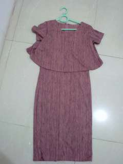 Dress Bodycon Wanita