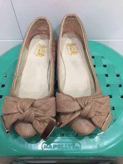Flat shoes pita murah