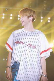 Wanna One Baseball Jersey - Kang Daniel (size XL)