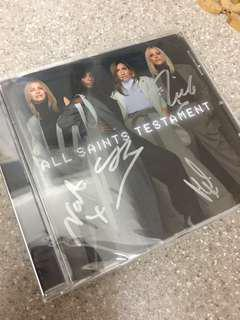 All Saints - Testament (CD SIGNED & Imported)