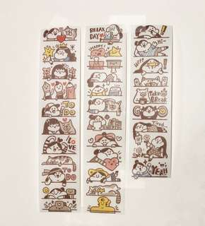 (Instock) *Exclusive* To Do List Washi Stickers