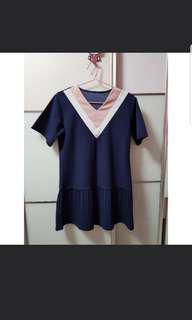 Korea Pleated Dress
