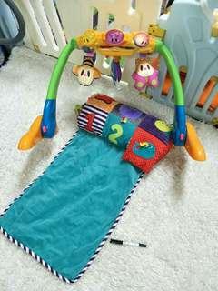 寶寶健力架+遊戲墊